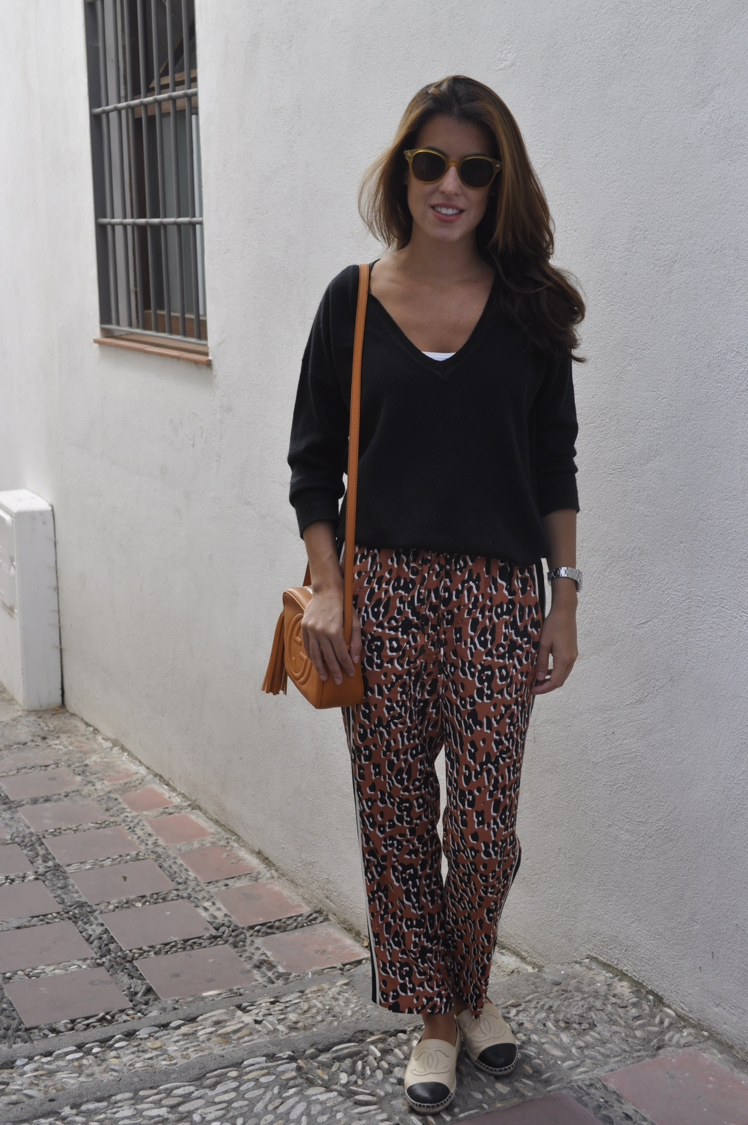 pantalones leopardo zara craving for barneys. Black Bedroom Furniture Sets. Home Design Ideas